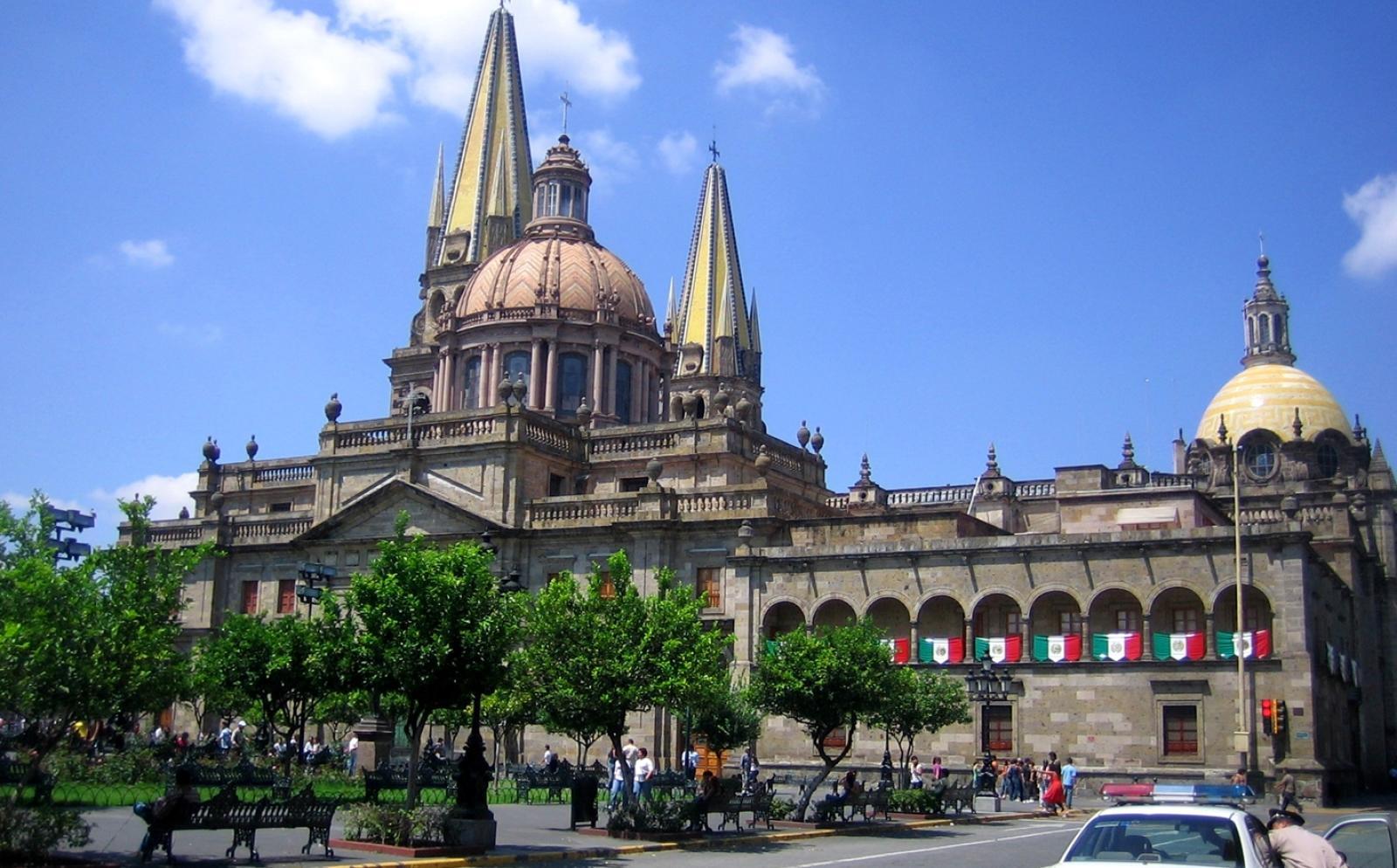 海外ボランティアの舞台メキシコの街並み